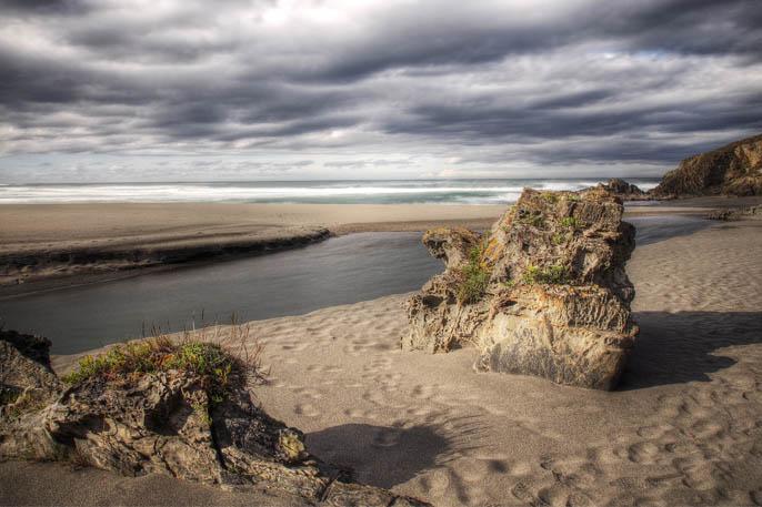 Playa e Frejulfe, Navia Asturias - Banderas Azules Asturias 2019