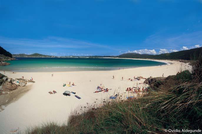 Playa San Xurxo, Ferrol - Bandera Azul A Coruña