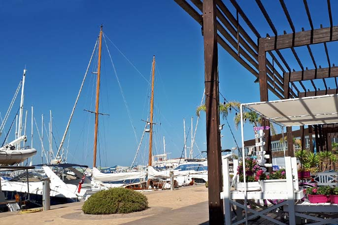 Puerto Marina de las Salinas - Bandera Azul Puerto Murcia 2019