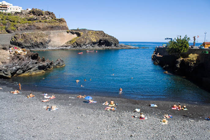 playa El Muelle Garachico