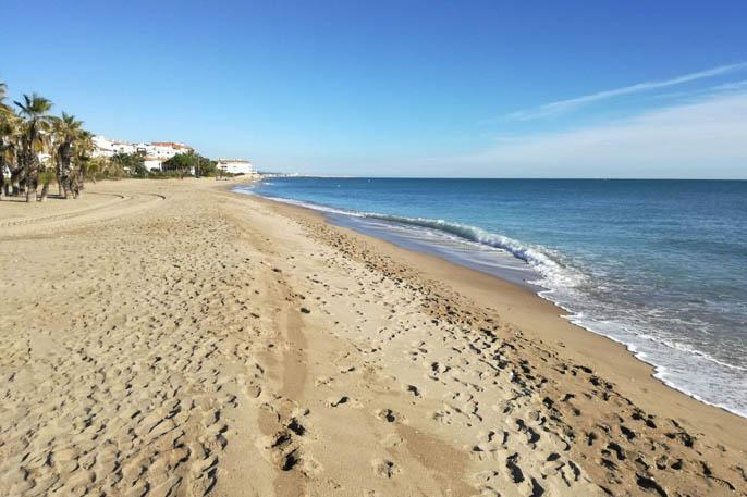 playa franças, vendrell, tarragona