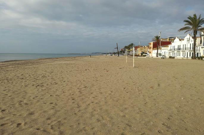 platja Sant Salvador, El Vendrell, Tarragona