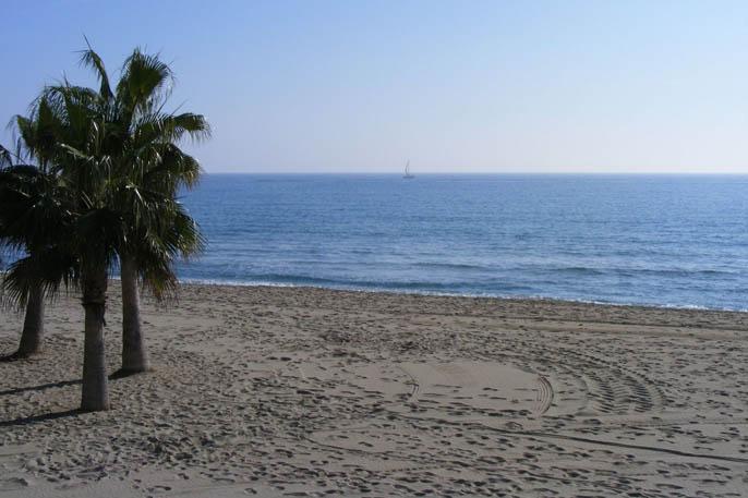 playa coma-ruga el vendrell tarragona