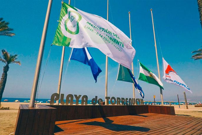 Playa de Torrenueva en Torrenueva Costa