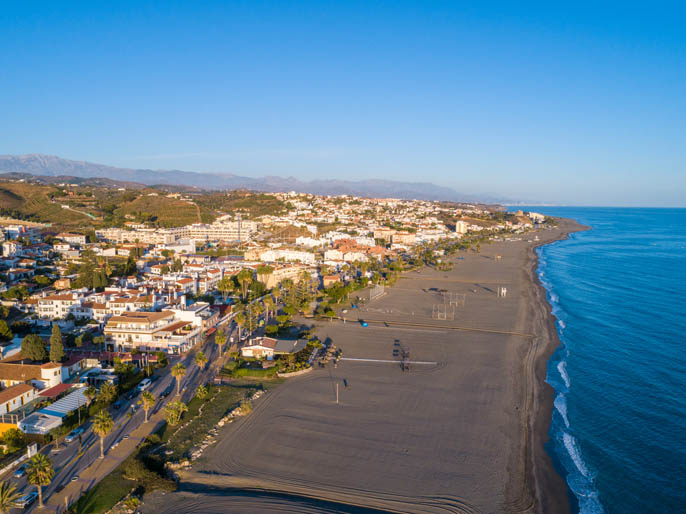 Playa Benajarafe - Bandera Azul - Velez Malaga