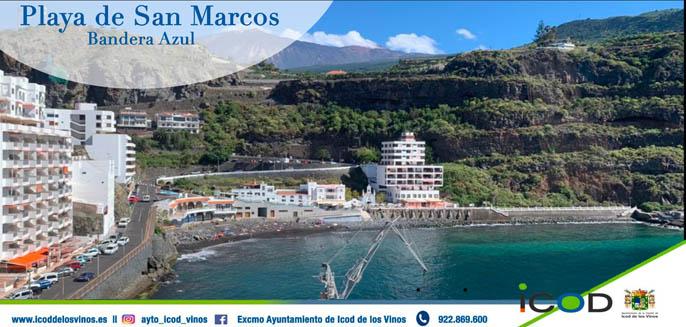 Playa San Marcos Icod de los Vinos