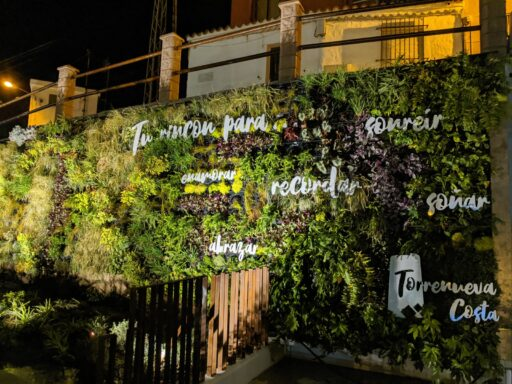 Jardín Vertical El Aljibe - Torrenueva Costa
